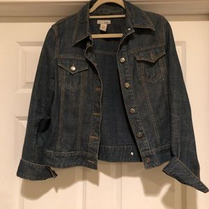 Jean Jacket not stretchy material